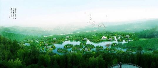 门头沟新城滨河森林公园